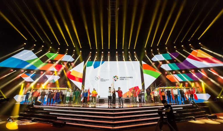 Asian Games featuring esports in Jakarta, Inonesia