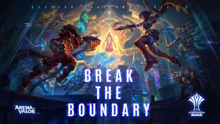 Breaking the Boundary motto of the upcoming AoV