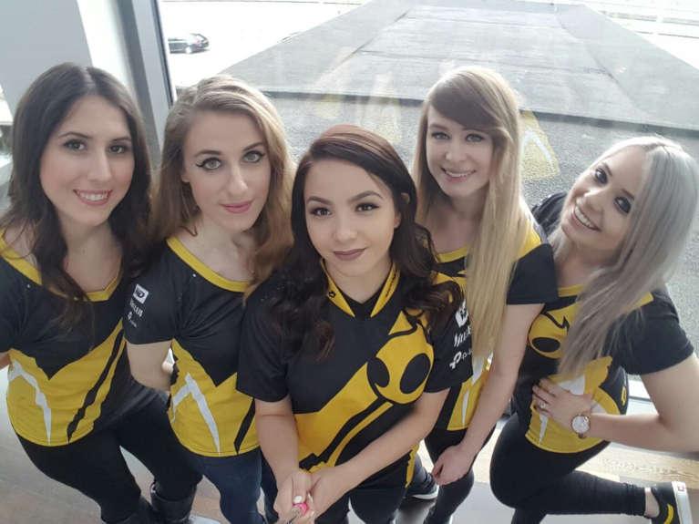 Team Dignitas' Female CS:GO squad