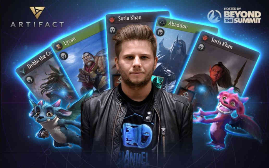 Larsson Wins First Artifact: The Dota Card Game Tournament