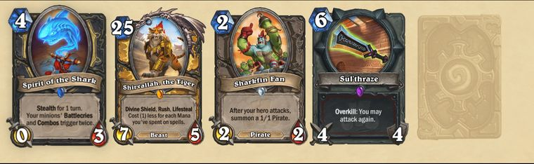 Cads from the new Rastakhan expansion.