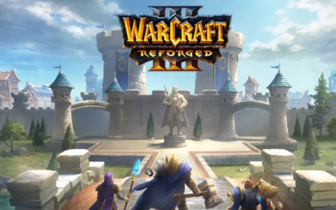 Warcraft III Reforged introduction.