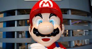 Nintendo's Mario is cross.