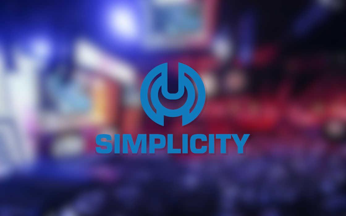 Simplicity esports' logo and esports future.