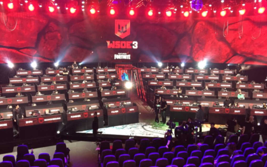 WSOE Fortnite stage