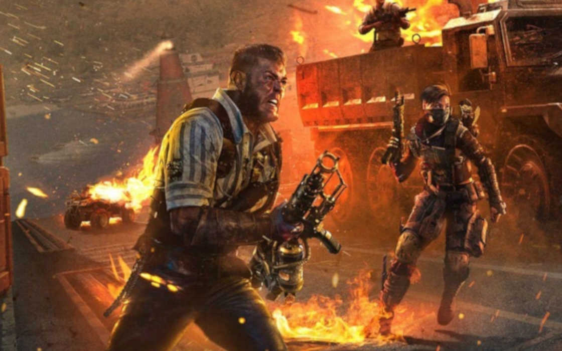 Call of Duty official game art.