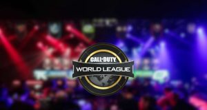 CWL official logo and one of MLG's arenas.