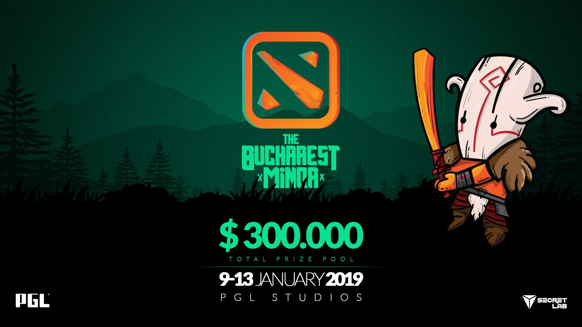 Dota 2 Bucharest Minor event.