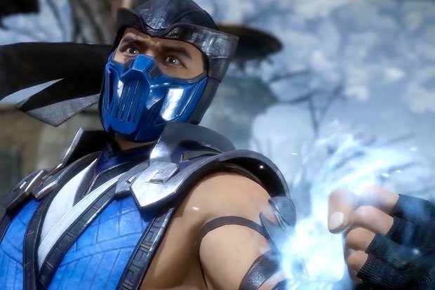 Sub-Zero, the iconic cryomancer of the franchise.