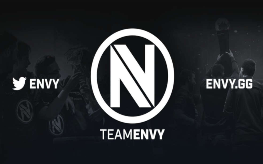 Team Envy's official logo and website.