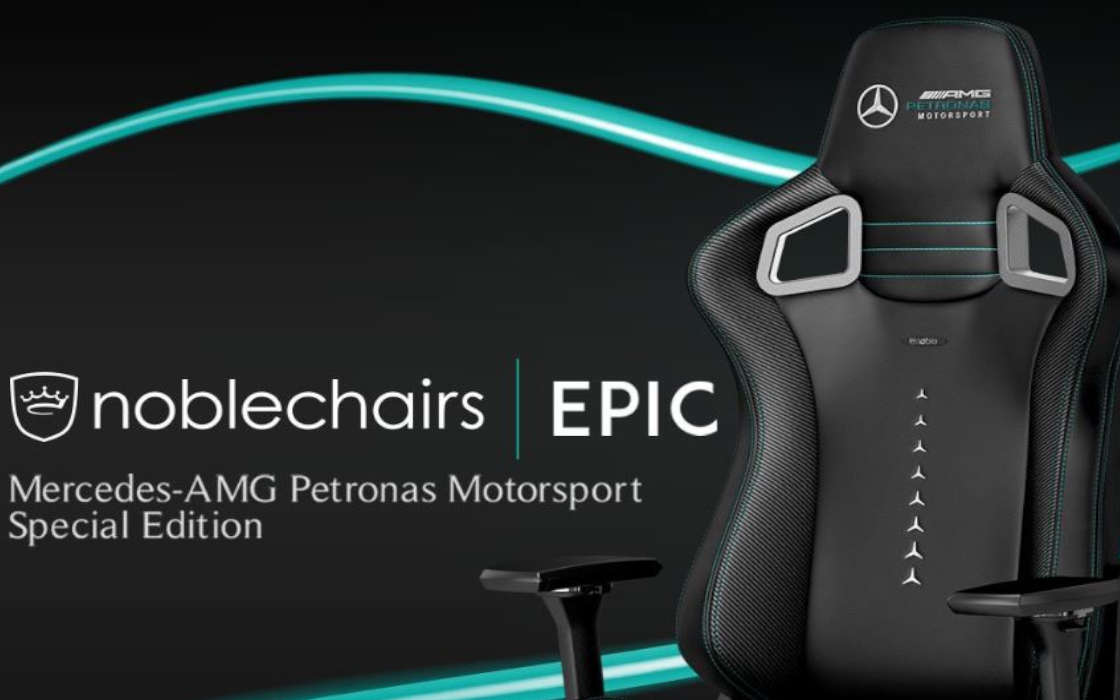 Noblechairs, Mercedes Partnership Confirms F1 Esports Popularity