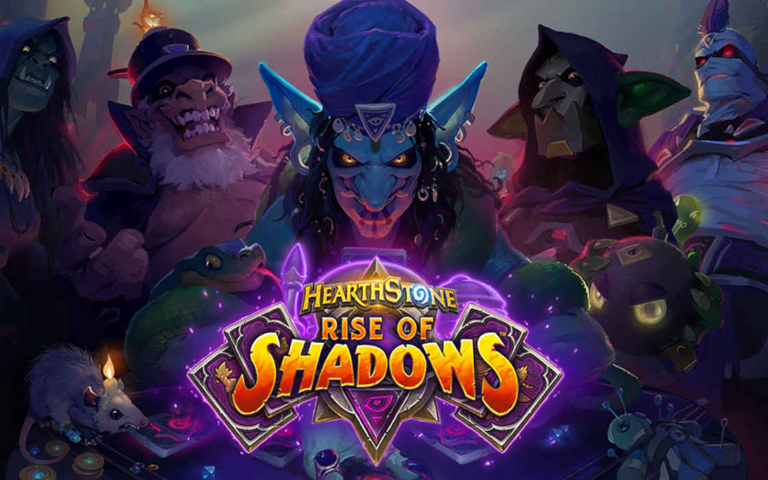 Rise of Shadows, the latest Hearthstone expansion.