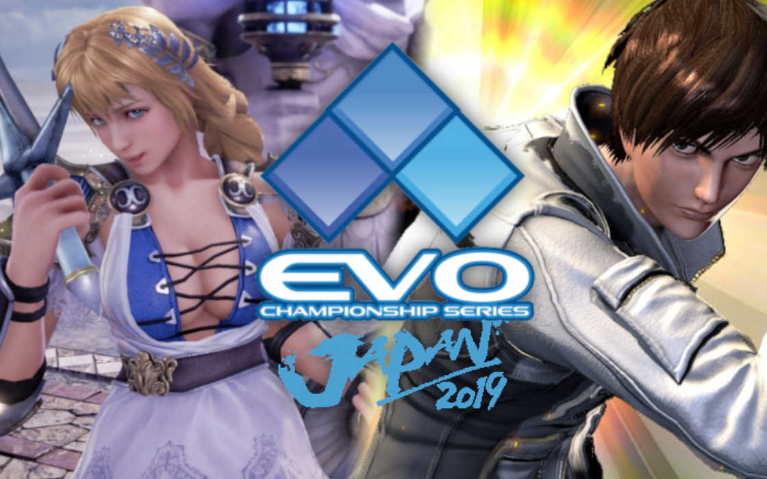 An official poster for EVO Japan 2019.