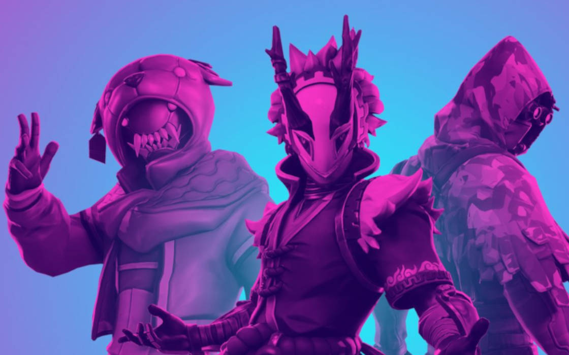 Fortnite's official characters.