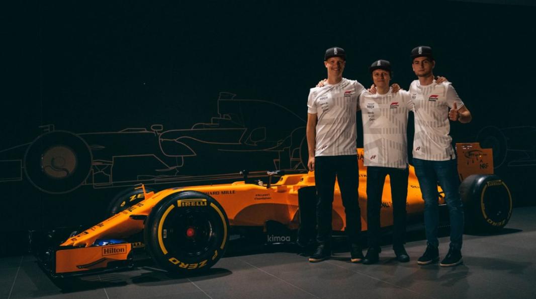 McLaren's esports racing team.